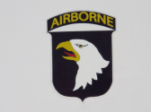 UNITED STATES ARMY 101st AIRBORNE 3D EFFECT FRIDGE MAGNET